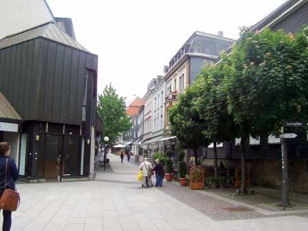 Hattingen Fußgängerzone