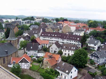 Blick auf Blankenstein