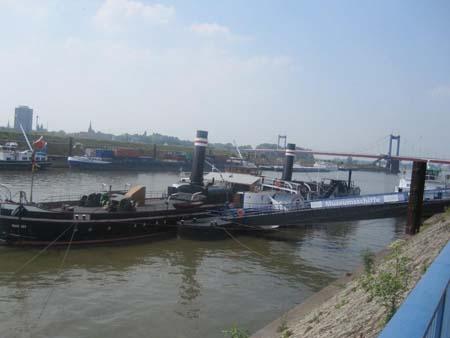 Museumsschiff Duisburg Hafen