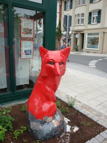 Ein Roter Fuchs
