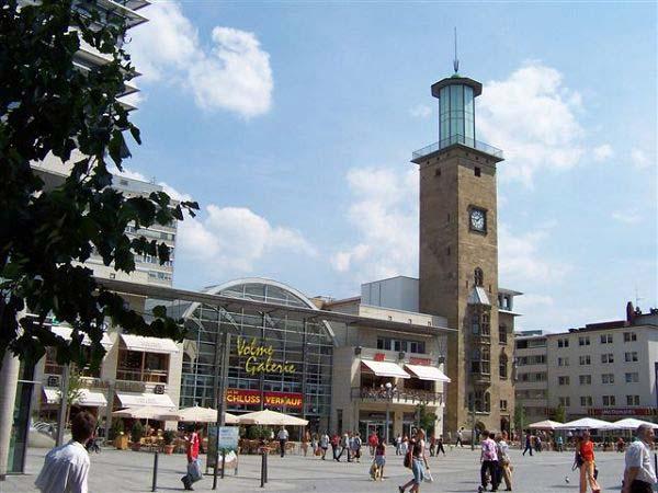 Volmegalerie und Rathaus