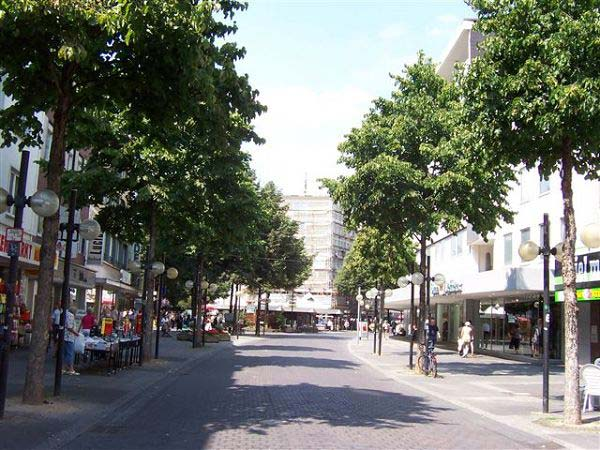Fußgängerzone in Hagen/Westf