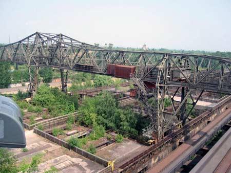 Ausblick vom Industriemuseum