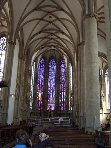 Innenbau der Lambertikirche