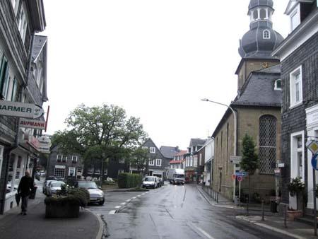 Zentrum Wuppertal-Cronenberg