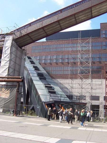 Die längste Rolltreppe Deutschlands
