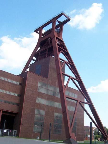 Fördergerüst Zeche Zollverein