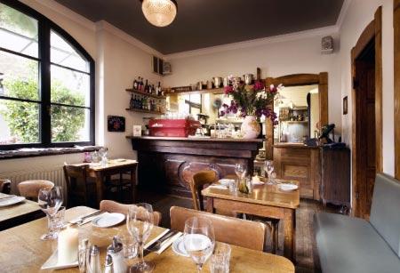 Gastraum, Restaurant Spoerl Fabrik