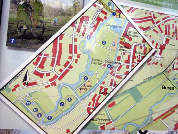 Plan Almeauen Park Büren