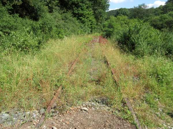 Almetalbahn Schienenstrang