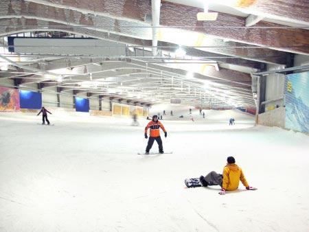 Alpincenter Skihalle Bottrop - Skifahren Piste