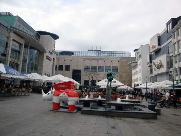 Bläserbrunnen, Alter Markt Dortmund