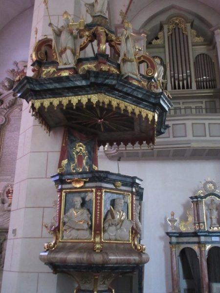 Kanzel Laurentiuskirche