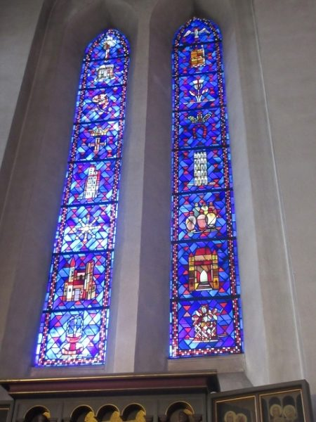 Ein außergewöhnliches Mosaikfenster