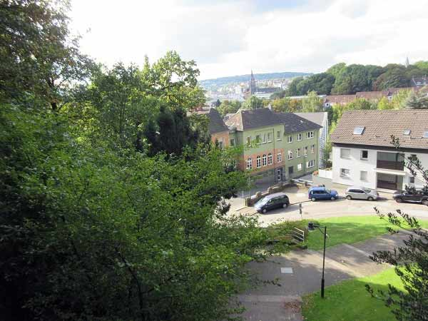 Ausblick auf Elberfeld