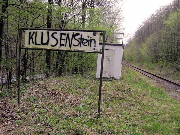 Bahnsteig Klusenstein