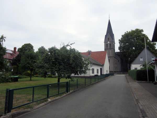 Das Dorf Bleiwäsche