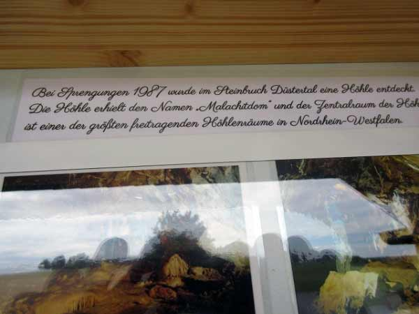 Info über Höhlen-Entdeckung