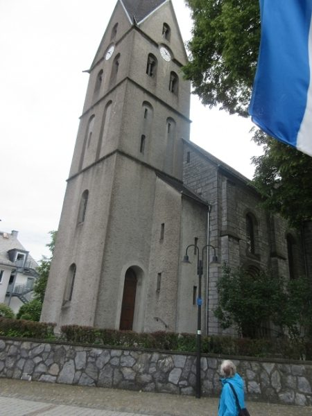 Kirche St. Agatha, Bleiwäsche