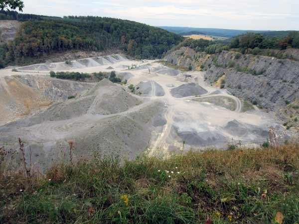 Steinbruch Düstertal, Bleiwäsche
