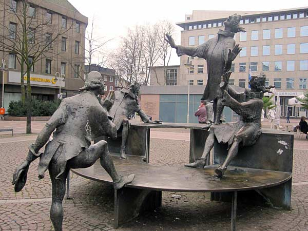 Kortum Brunnen, Bochum
