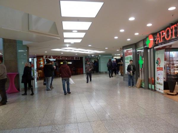 Shopping-Center City Point - Eine weitere Etage