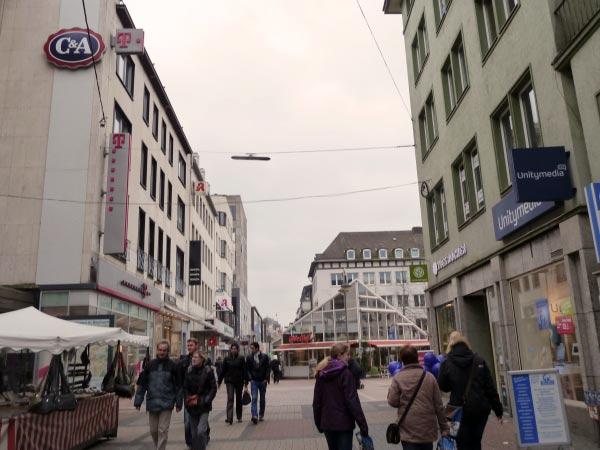 Bochum Fußgängerzone