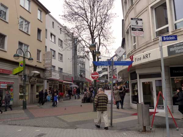 Kortumstraße, Ecke Brückstraße