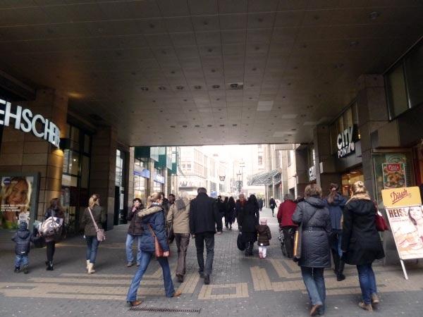 Unterführung Kortumstraße
