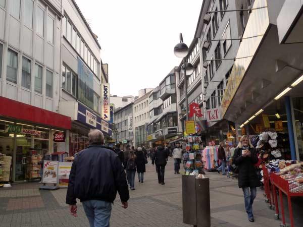 Shopping in Bochum: viele Geschäfte, riesiges Warenangebot