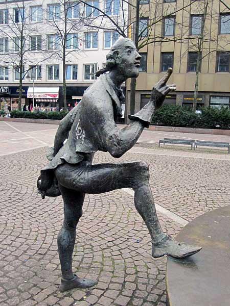 Bochum Statue