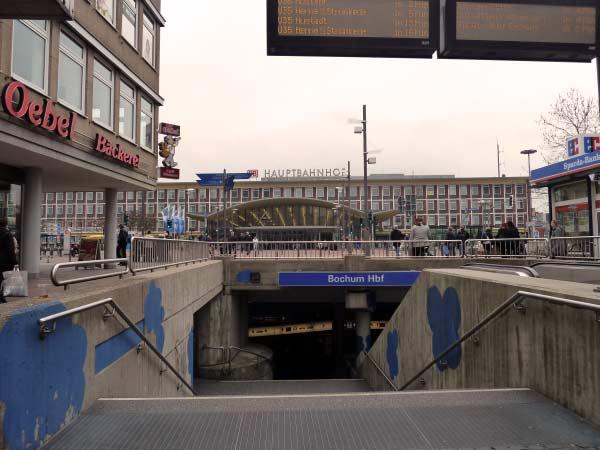 U-Bahn-Station Hauptbahnhof