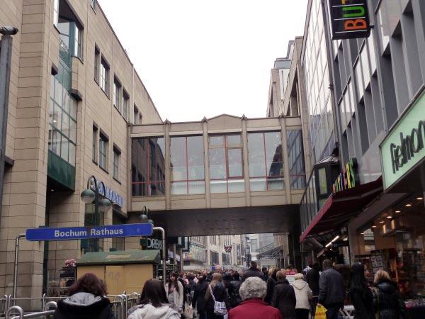 Zentrum Bochum, Fußgängerzone