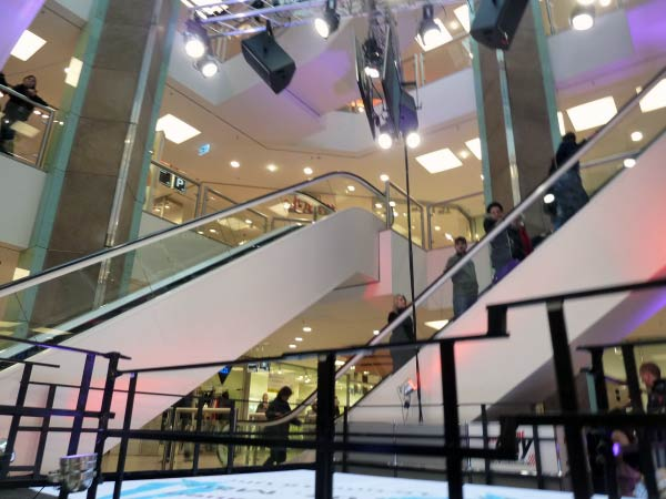 Rolltreppen - Shoppingcenter City Point