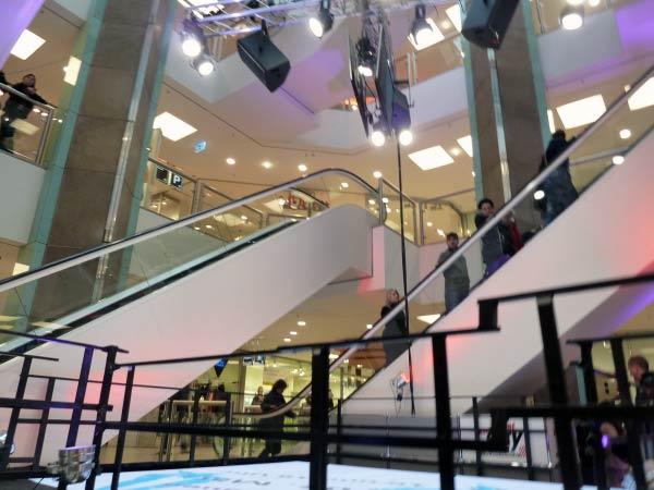 Rolltreppen - Shoppingcenter City Point