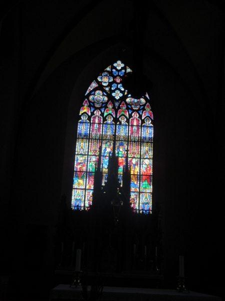 Kirchenfenster Probsteikirche