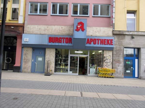 Burgtor-Apotheke, Brückstraße