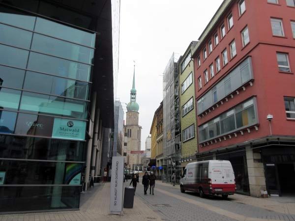 Brückstraße - Blick auf Reinoldikirche