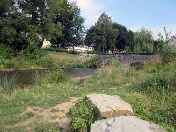 Almebrücke und die Alme