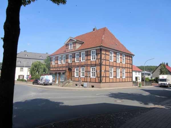 Fachwerkhaus Büren Bahnhofstraße