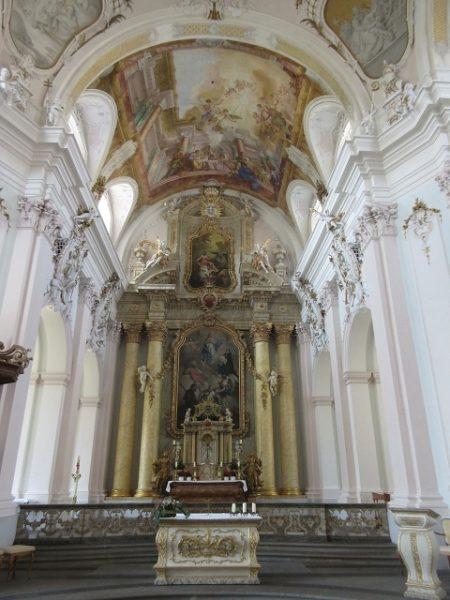 Jesuitenkirche - Künstlerische Deckengemälde