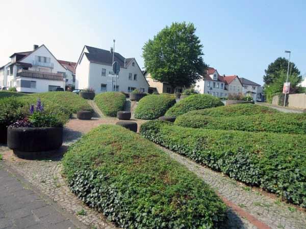 Burgstraße Grünanlage