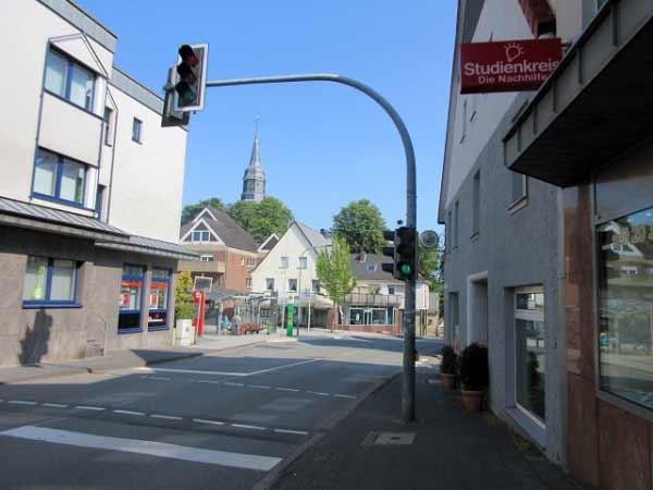 Königstraße zum Marktplatz