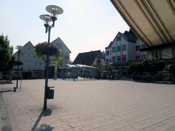 Marktplatz Büren