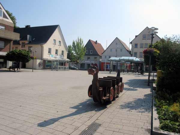 Marktplatz Büren Zentrum