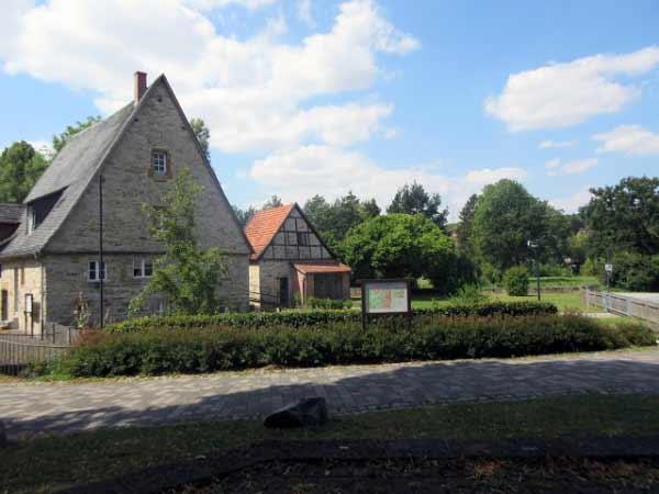 Mittelmühle Almeauen Park