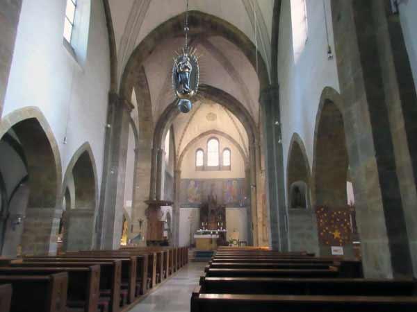 Nikolauskirche Innenschiff