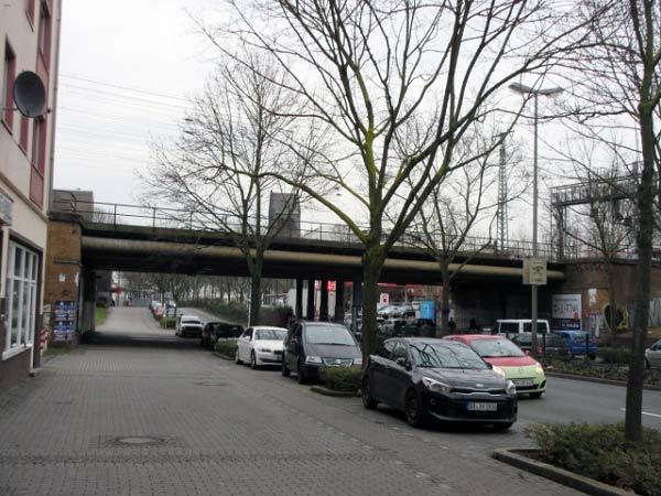 Eisenbahnbrücke Bornstraße