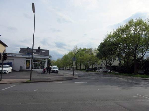 Kreuzung Deutsche Straße, Lüdinghauser Straße, Bayrische Straße