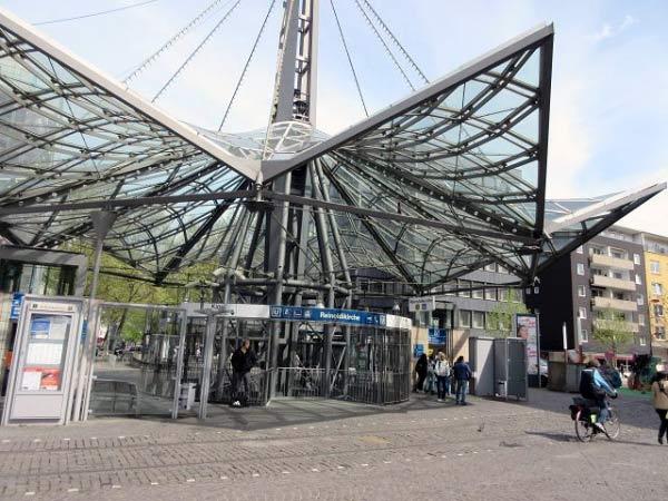 Reinoldikirche Haltestelle - Konstruktion